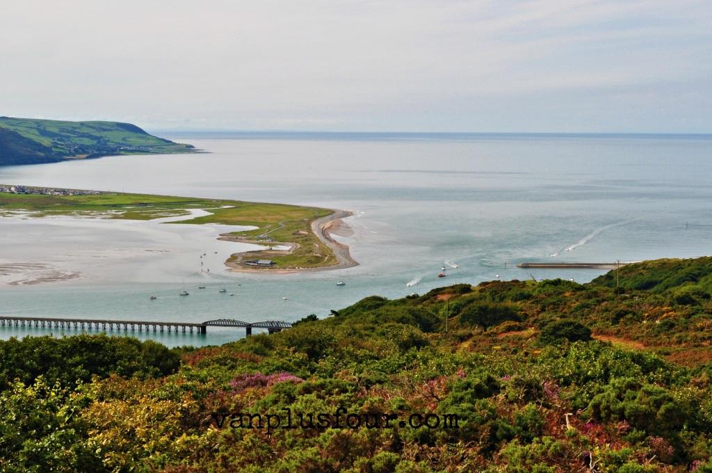 Shell Island Mid Wales UK