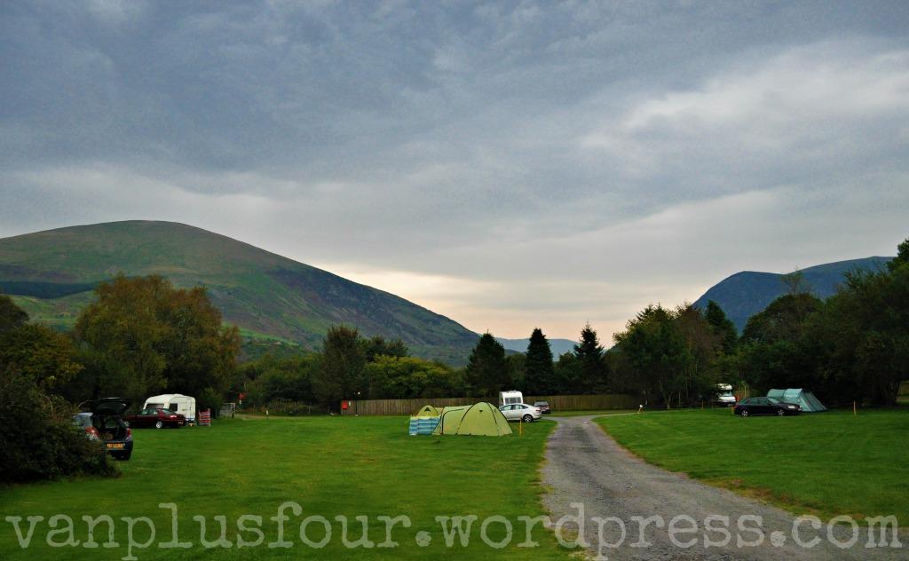 Snowdonia campsite