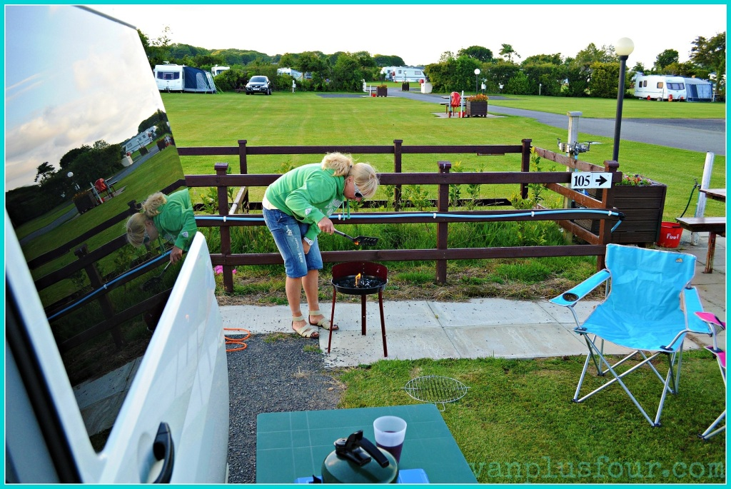 Plas Uchaf Caravan park Benllech Anglesey North Wales UK