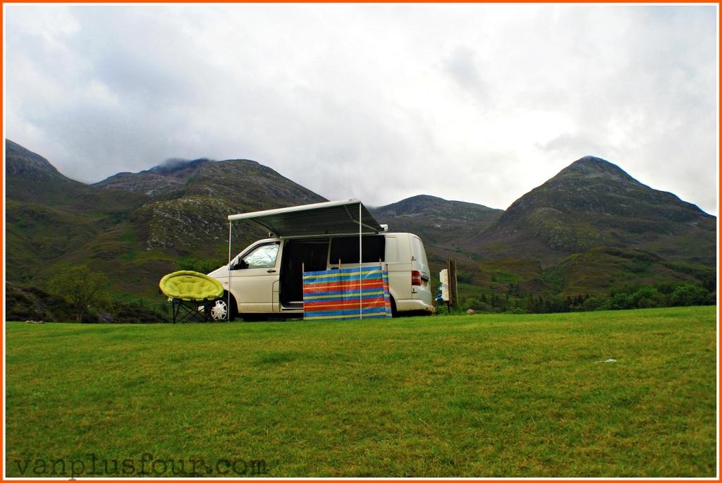 Caolasnacon Caravan & Camping Park Argyle Scotland UK
