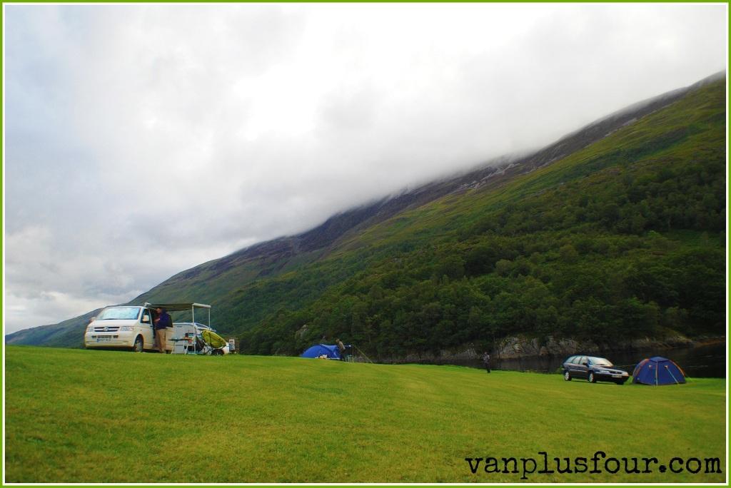 Caolasnacon Caravan & Camping Park, Argyle, Scotland, UK