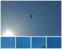 Search & Rescue helicopter Aira Falls Cumbria