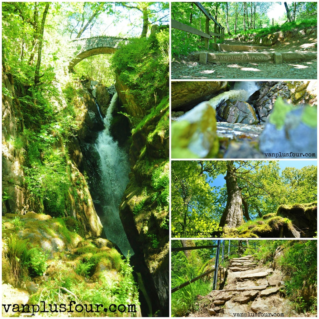 impressions from Aira Force Falls Cumbria