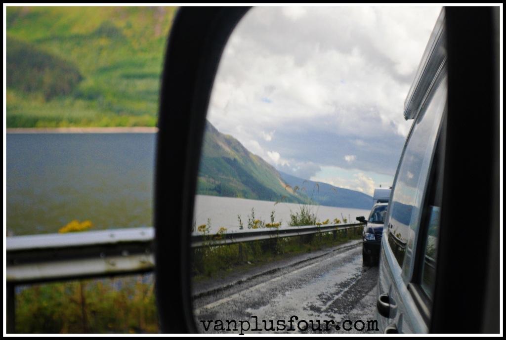 en route to Skye Scotland UK