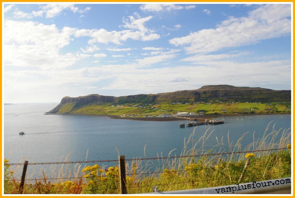 Uig camping & caravan park Uig Isle of Skye Scotland UK