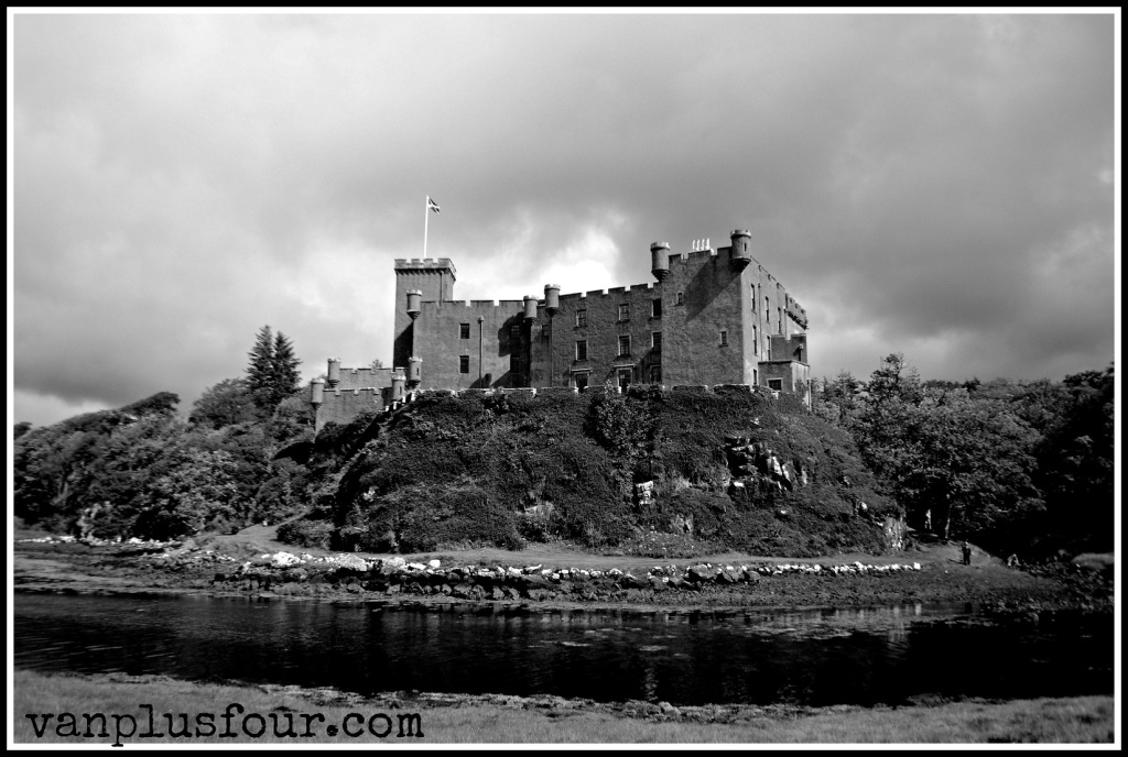 Dunvegan Castle, Isle of Skye, Highlands, Scotland