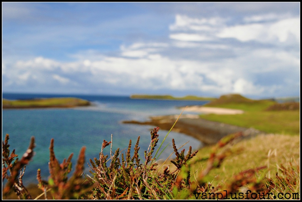 Coral Beach Isle of Skye Highlands Scotland