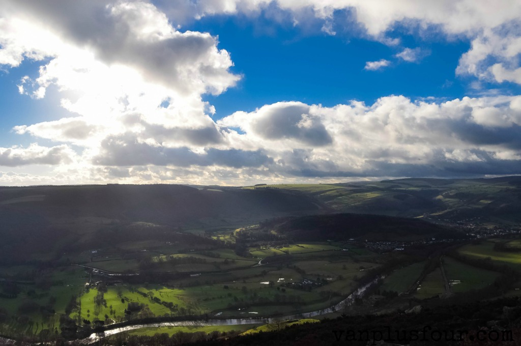 panoramic walk llangollen