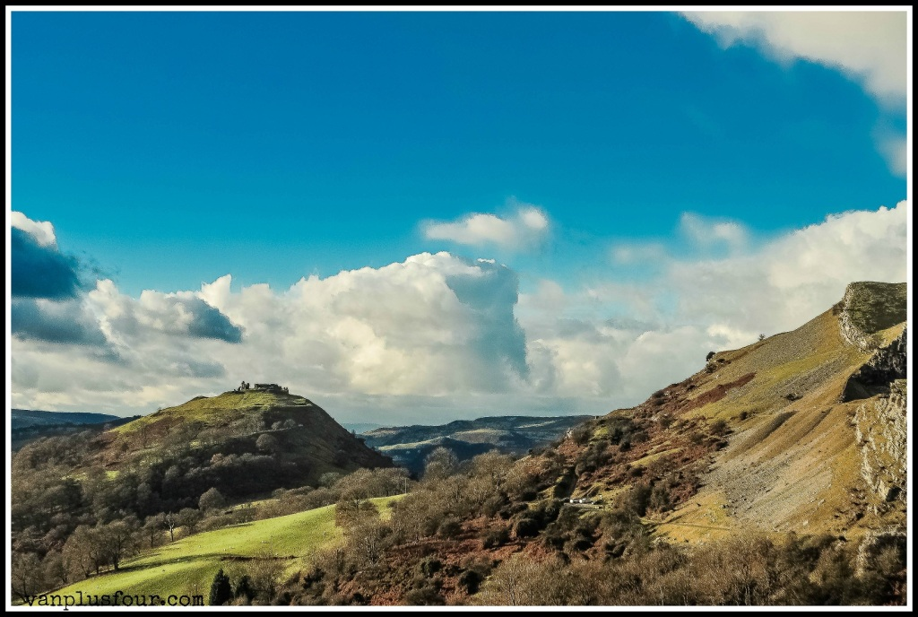 Panorama Walk Llangollen North Wales UK