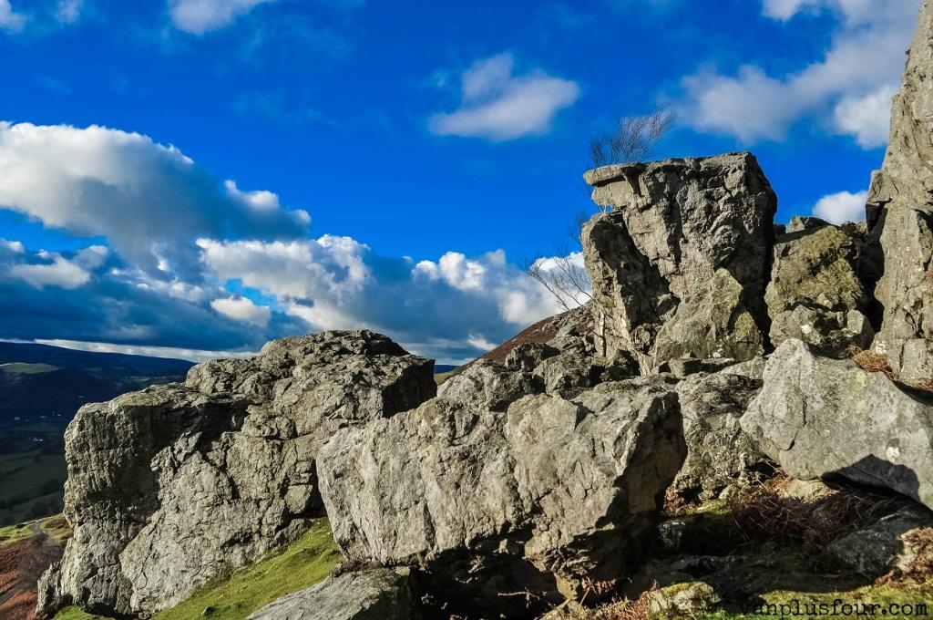 Panorama walk Llangollen North Wales