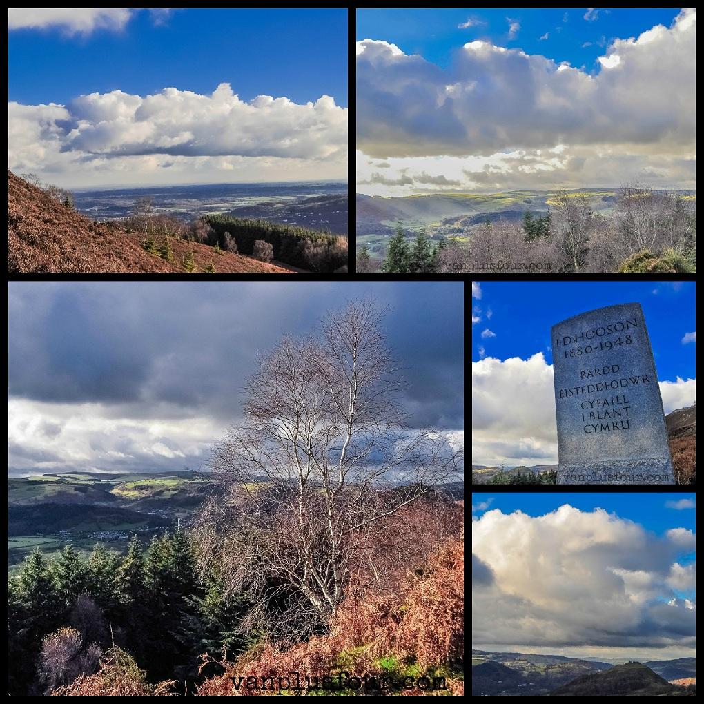 Panorama Walk Llangollen North Wales UK