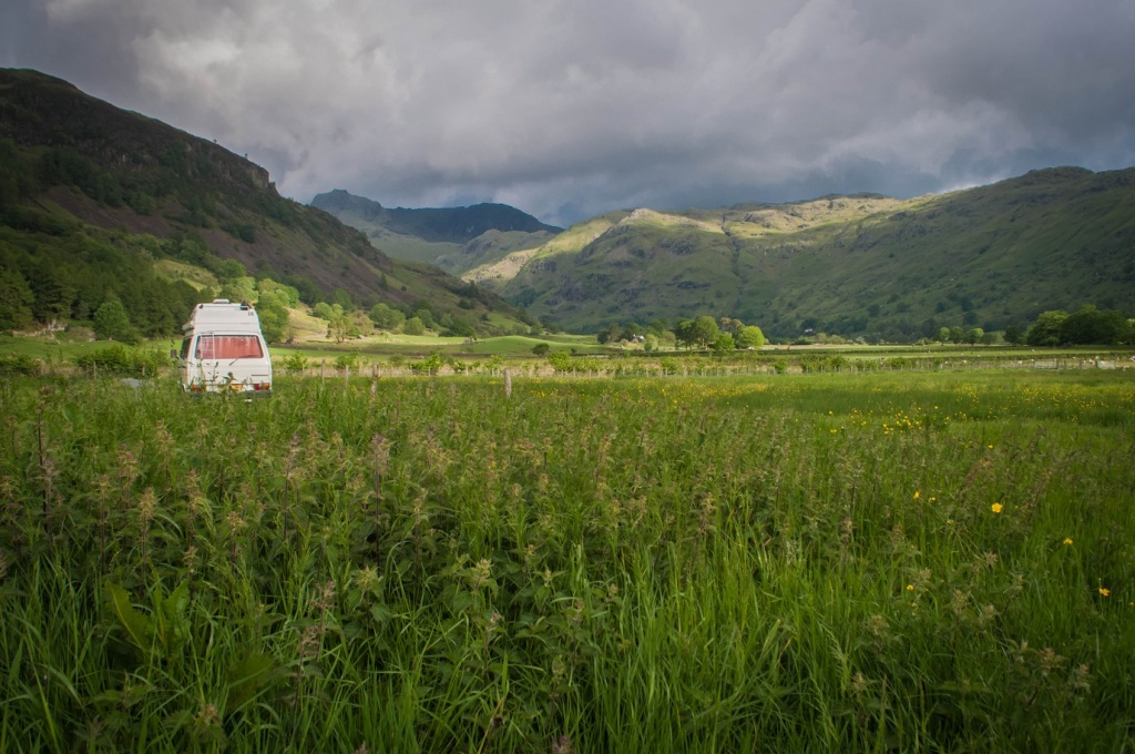 Braysbrown Farm, Church Site, Cumbria, Lake District, England