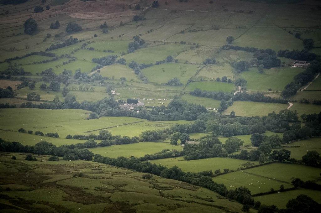 Edale Valley, Peak District, Derbyshire, England, UK