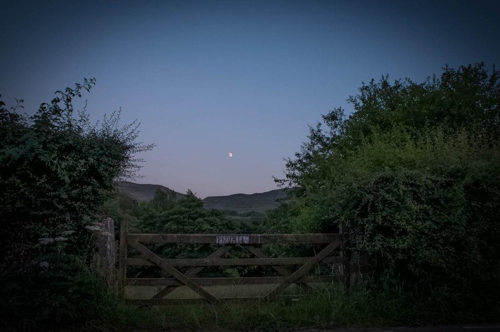Waterside Farm campsite, Edale Valley, Peak District, England, UK