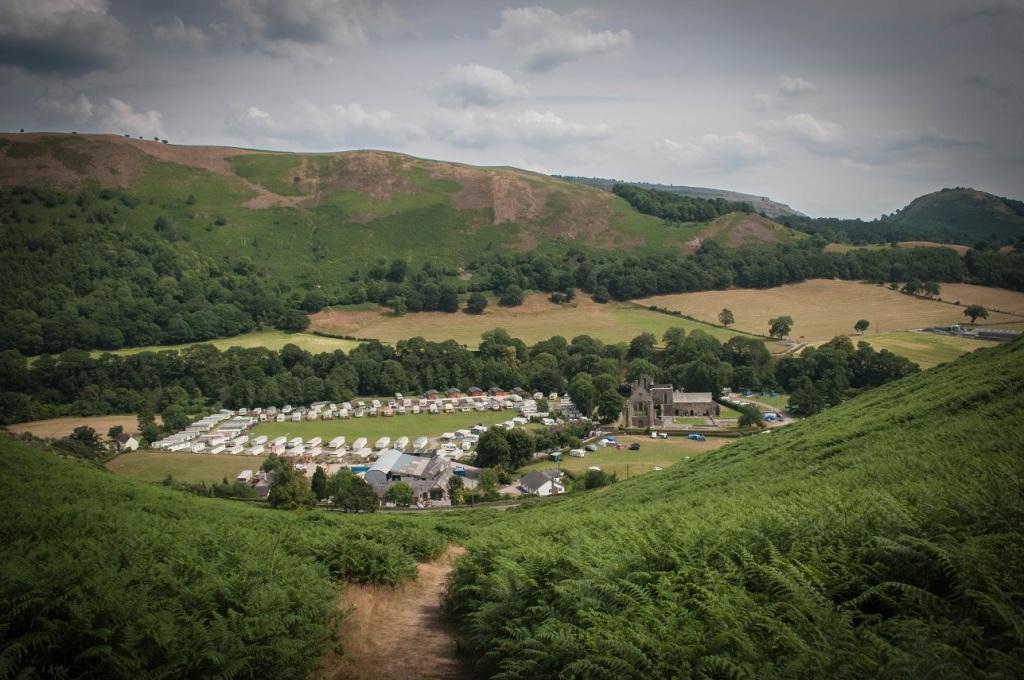 Abbey Grange, Llangollen, North Wales, UK