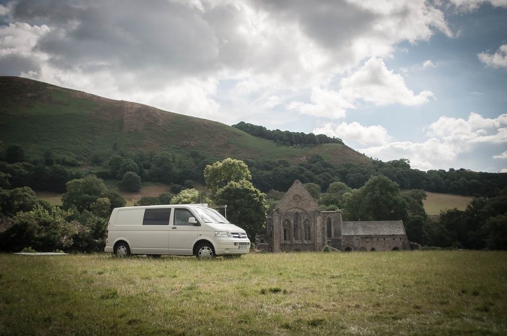 Abbey Grange campsite, Llangollen, North Wales