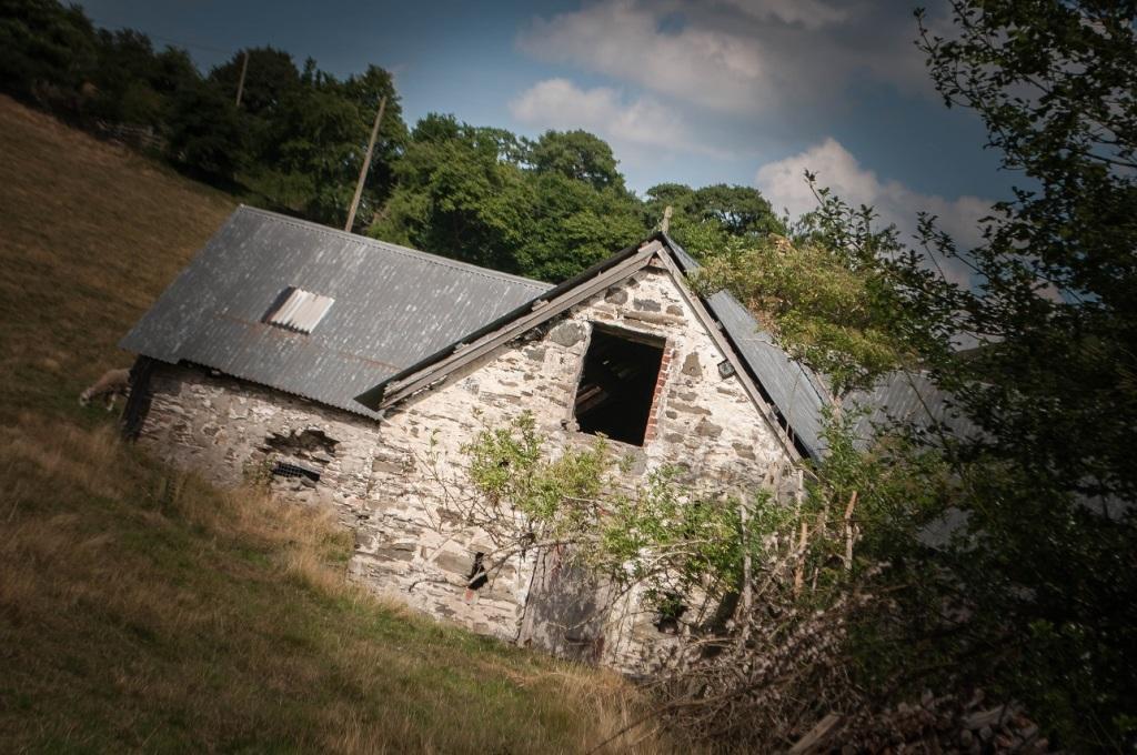 Abbey Grange campsite, Llangollen, North Wales, UK