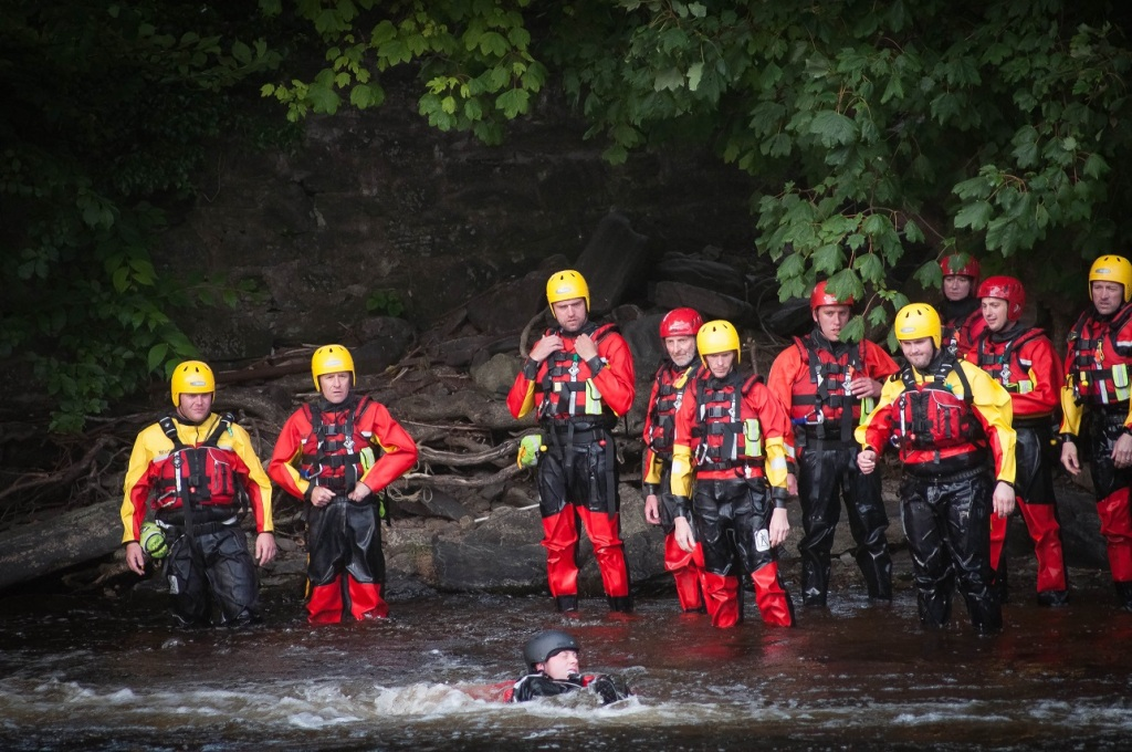 NEWSAR water training Llangollen