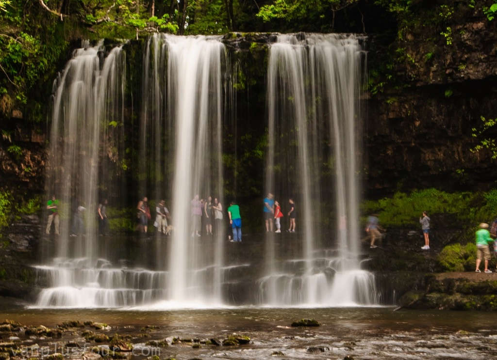 Glun-Gwyn waterfalls, South Wales