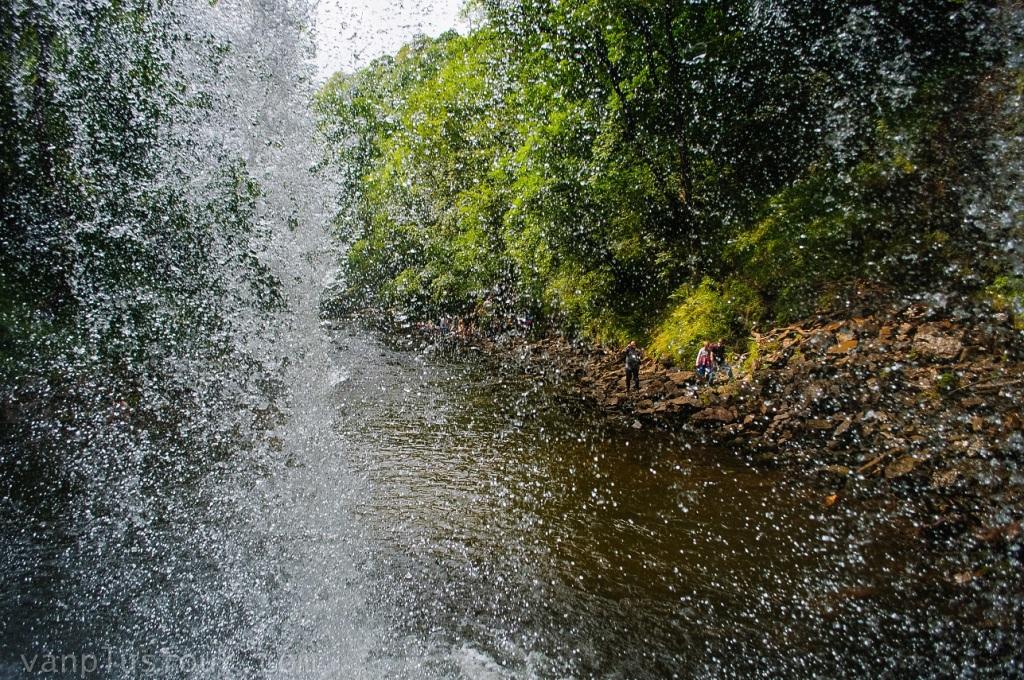 Glun-Gwyn waterfalls, South Wales