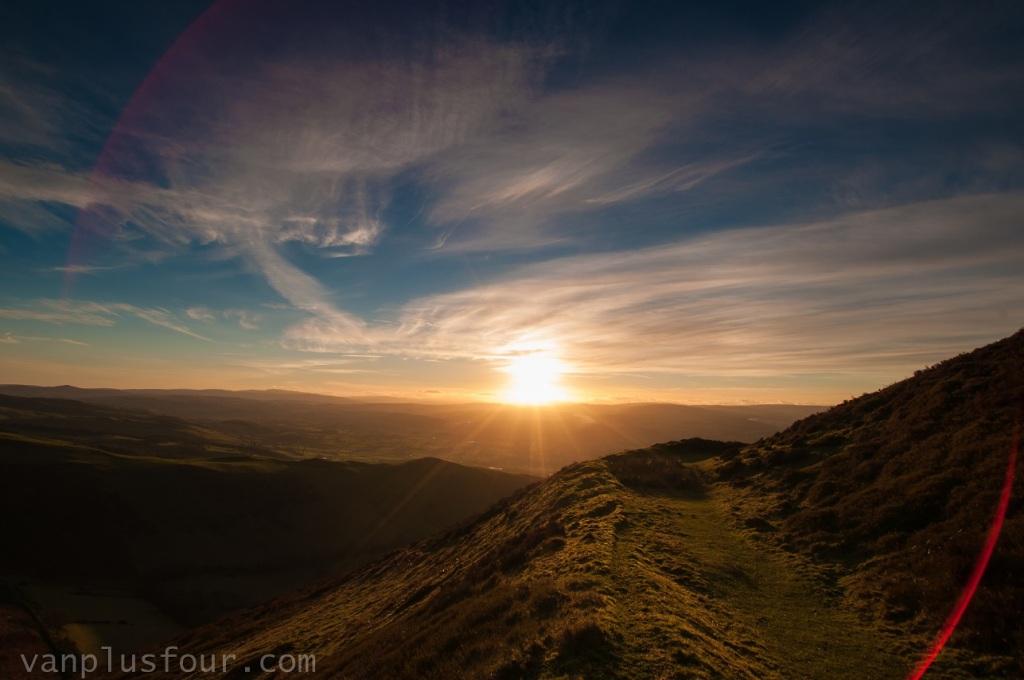 Moel Fenlli, Clwyedian Range, North Wales, UK
