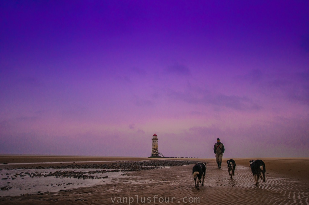Point of Ayr, Talacre Beach, Flintshire, North Wales, UK