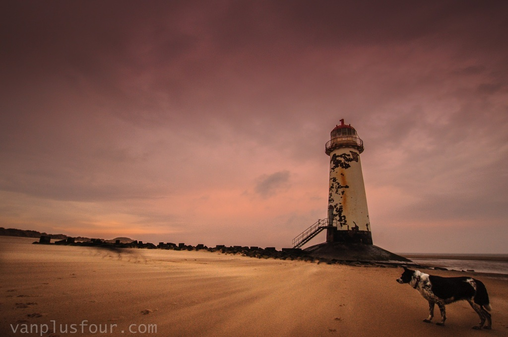 Point of Ayr, Talacre Beach, Flintshire, North Wales, UK