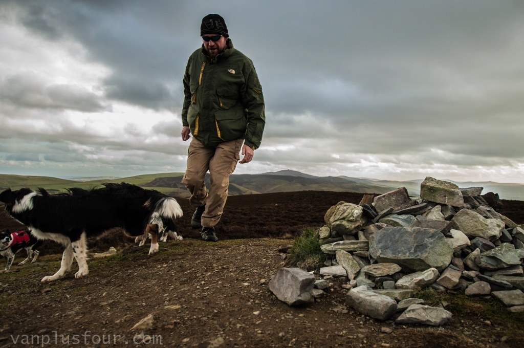 Moel Arthur, Clwydian Range, North Wales, UK