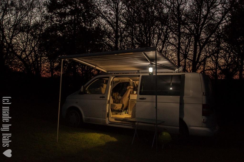 T5, VW, Cotswolds, sunset, Gloucestershire, UK, England