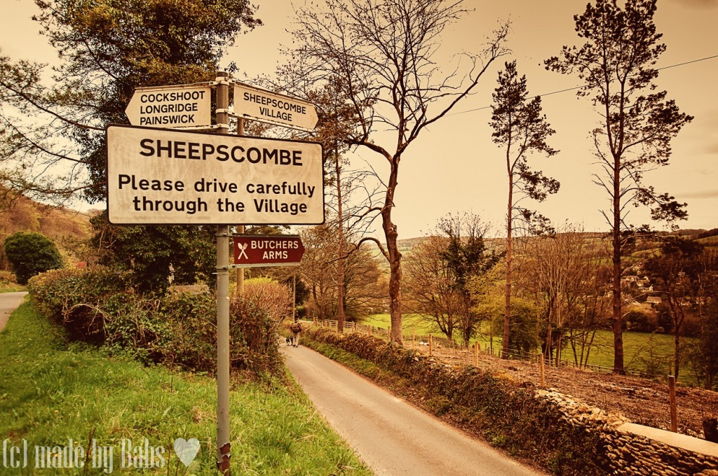 Sheepscombe, Cotswolds, Gloucestershire, England, UK
